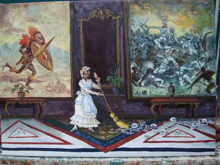 Resaca (2014) Oleo sobre tela, 50x70 cm