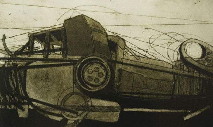 De la serie Persistencia de las formas (2007) Octavio Irving