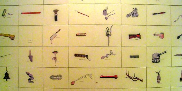 100 sexes de artistas (2009) Jacques Charlier
