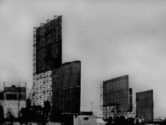 Escenario, inyección de tinta sobre vinil, 270 x 360 cm, 2008 (1)